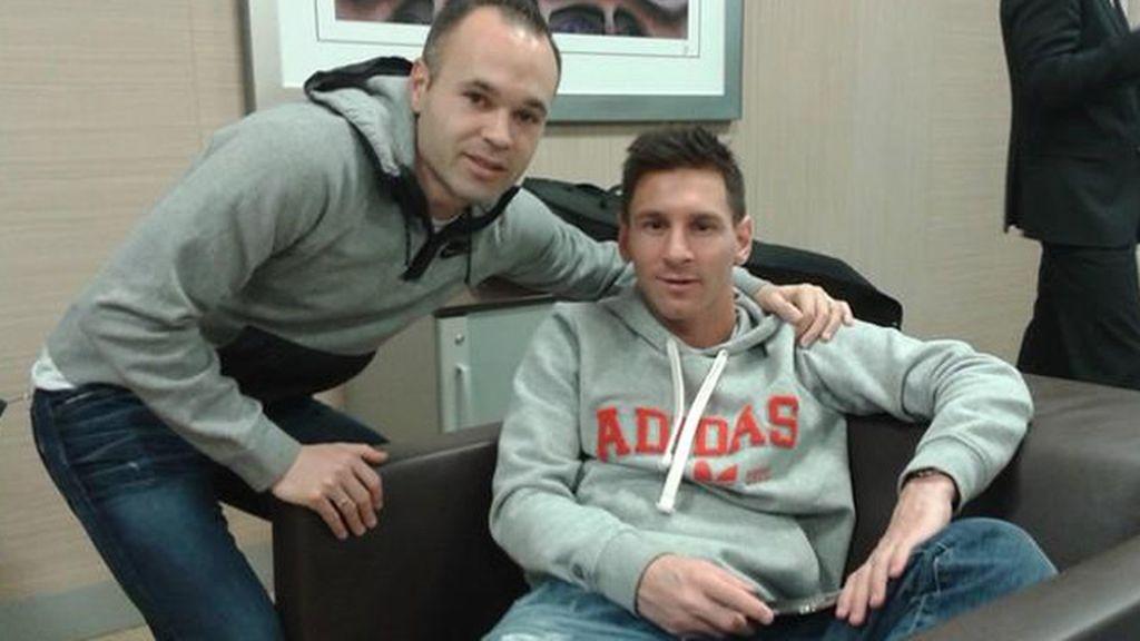 Messi e Iniesta rumbo a Zúrich