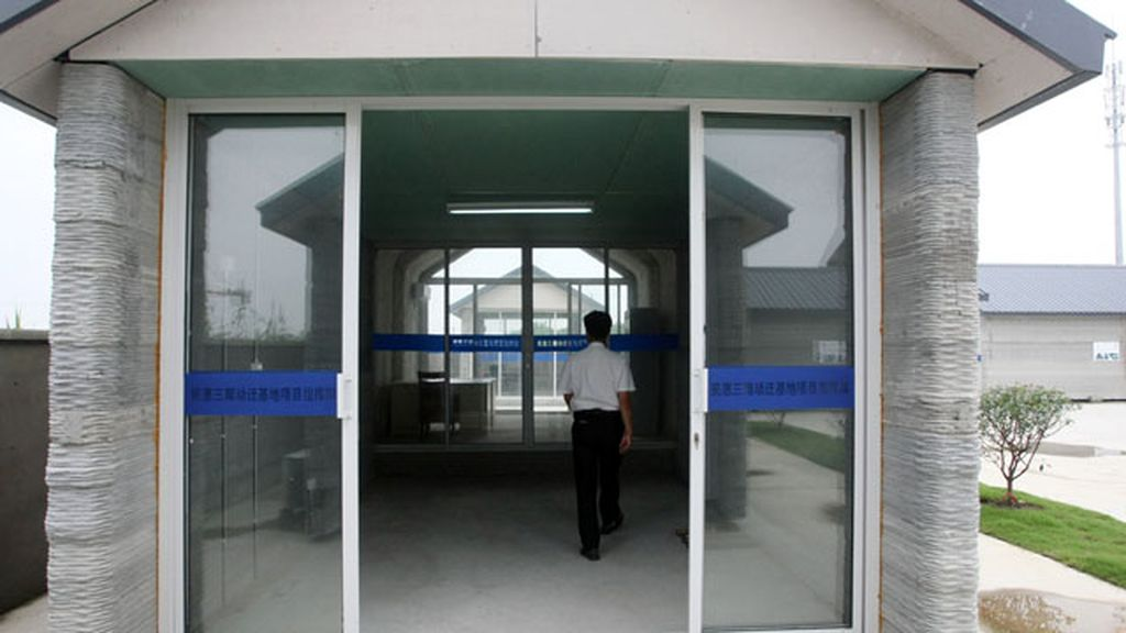 Una empresa china construye casas con un impresora 3D