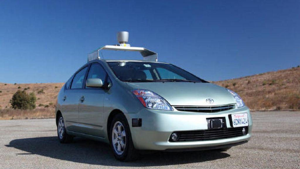 coche Google, sin chofer, sin conductor,