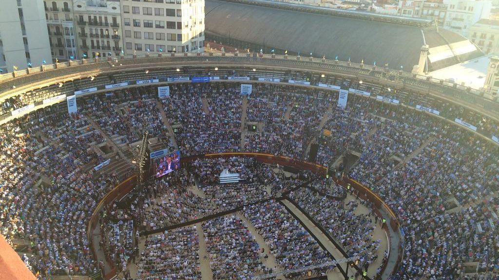 Mitin del PP en Valencia
