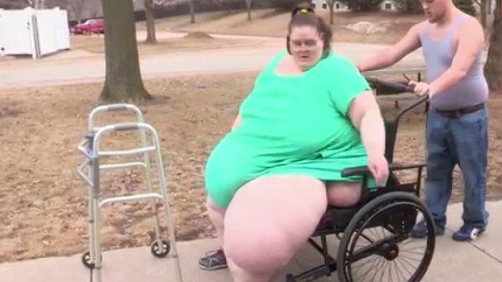 La mujer más gorda del mundo necesita perder 120 kilogramos para poder casarse