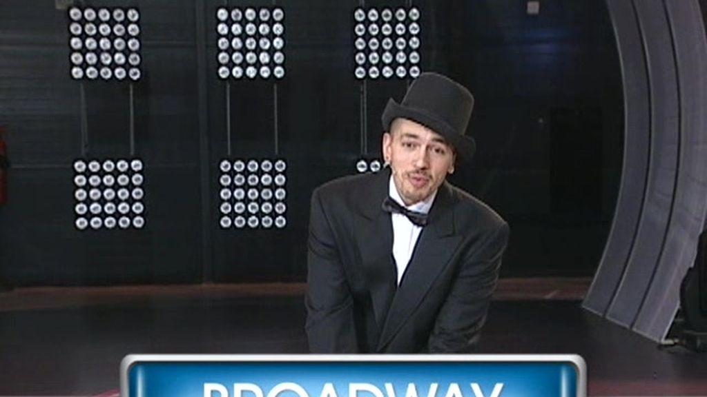 ¿Qué quieres que baile Benji? Opción broadway