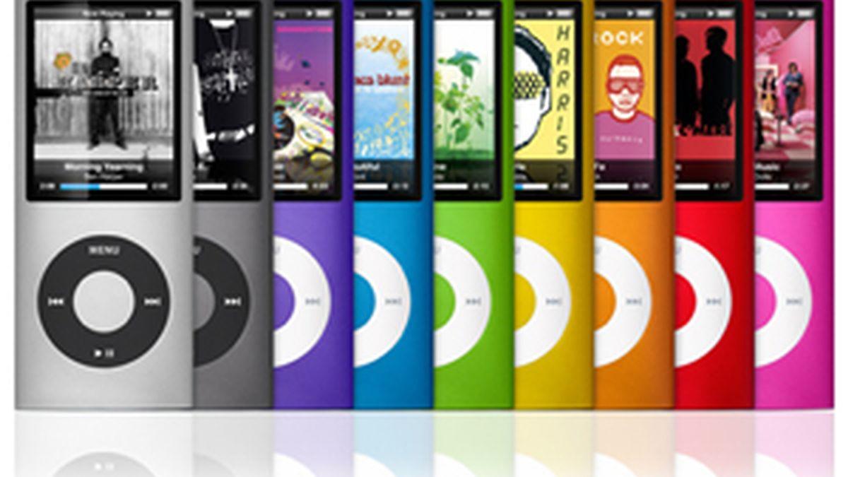 El iPod, uno de los productos estrella de Apple.