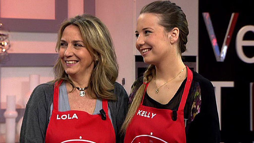 Lola y Kelly, de Zaragoza