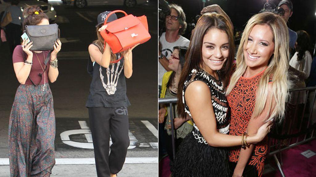 Vanessa Hudgens y Ashley Tisdale, tras sus bolsos