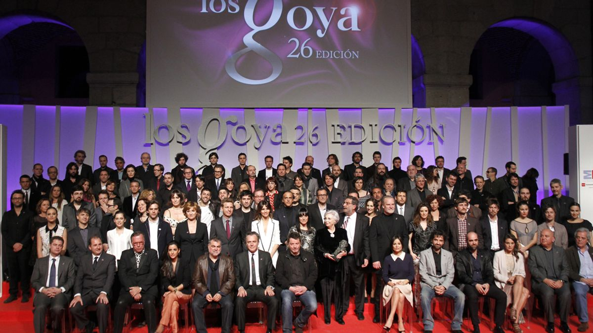 Los Goya celebran su fiesta