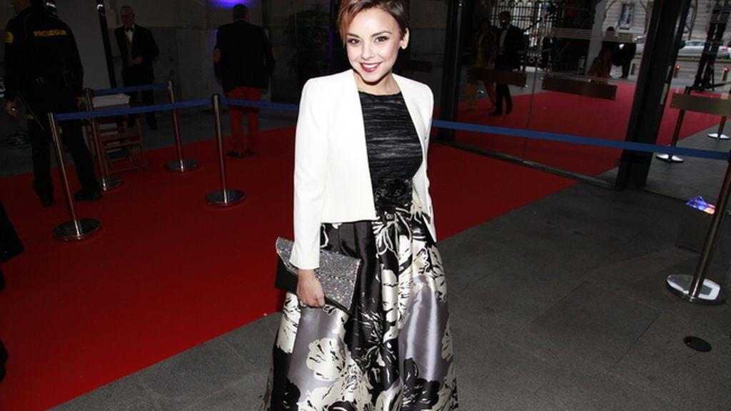 La cantante Chenoa con un espectacular vestido