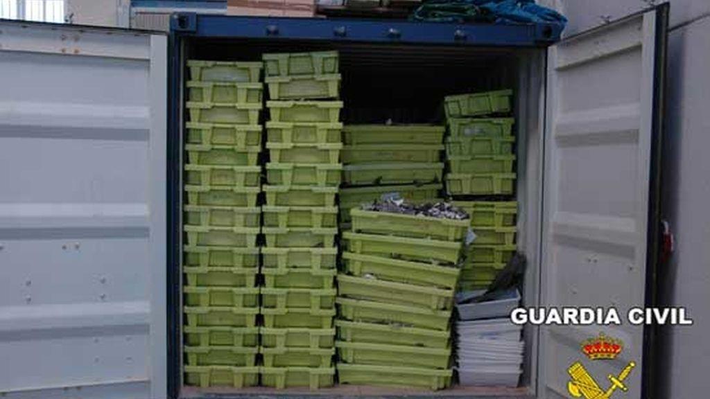 La Guardia Civil se incautó de 11.400 kilos en mayo