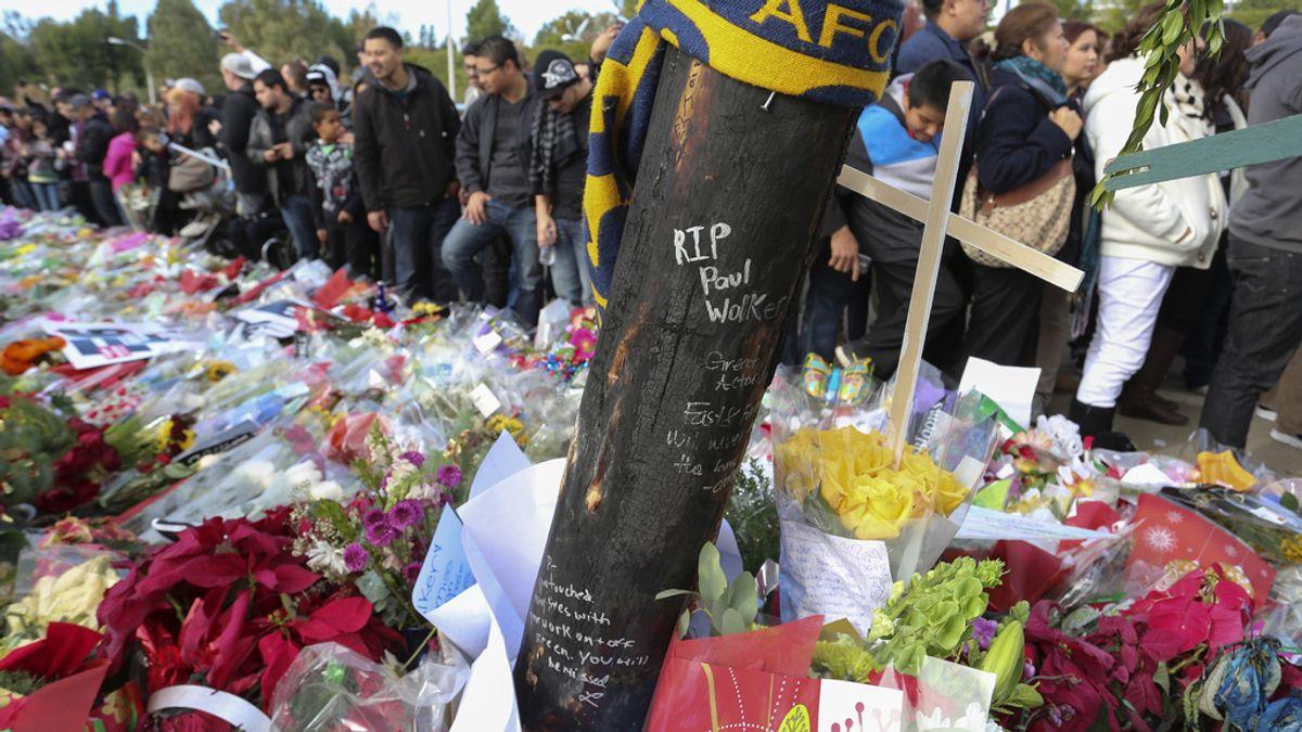 Emotivo homenaje a Paul Walker