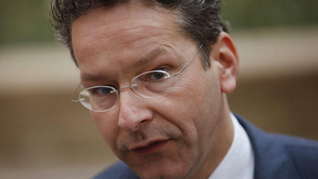 Jeroen Dijsselbloem, durante la reunión del Ecofin