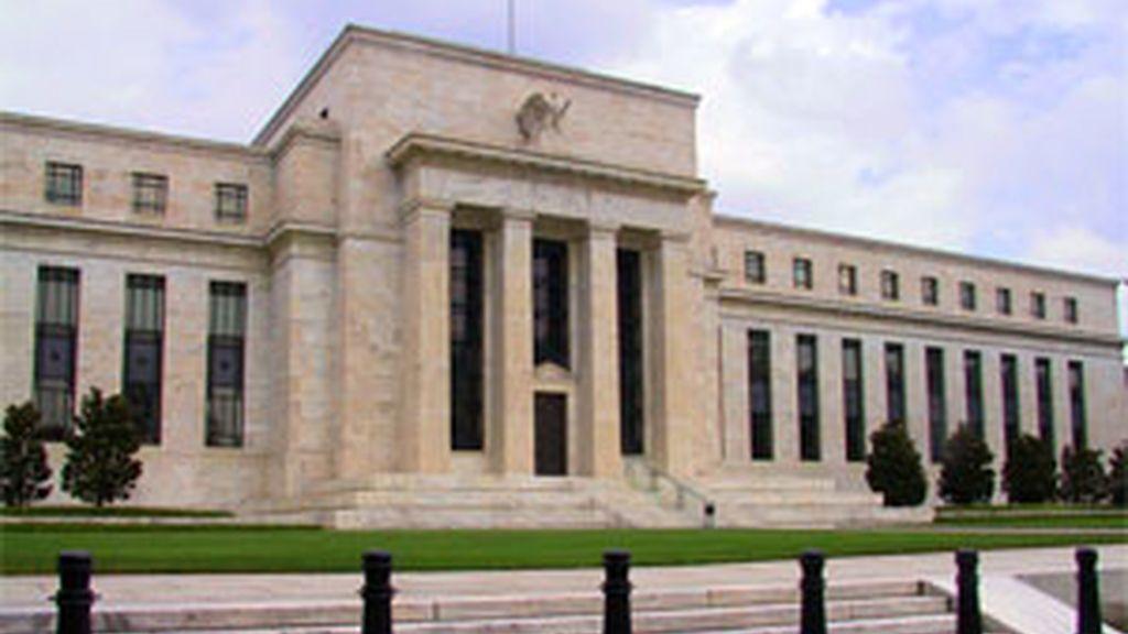 Imagen de la sede de la Reserva Federal de EEUU.