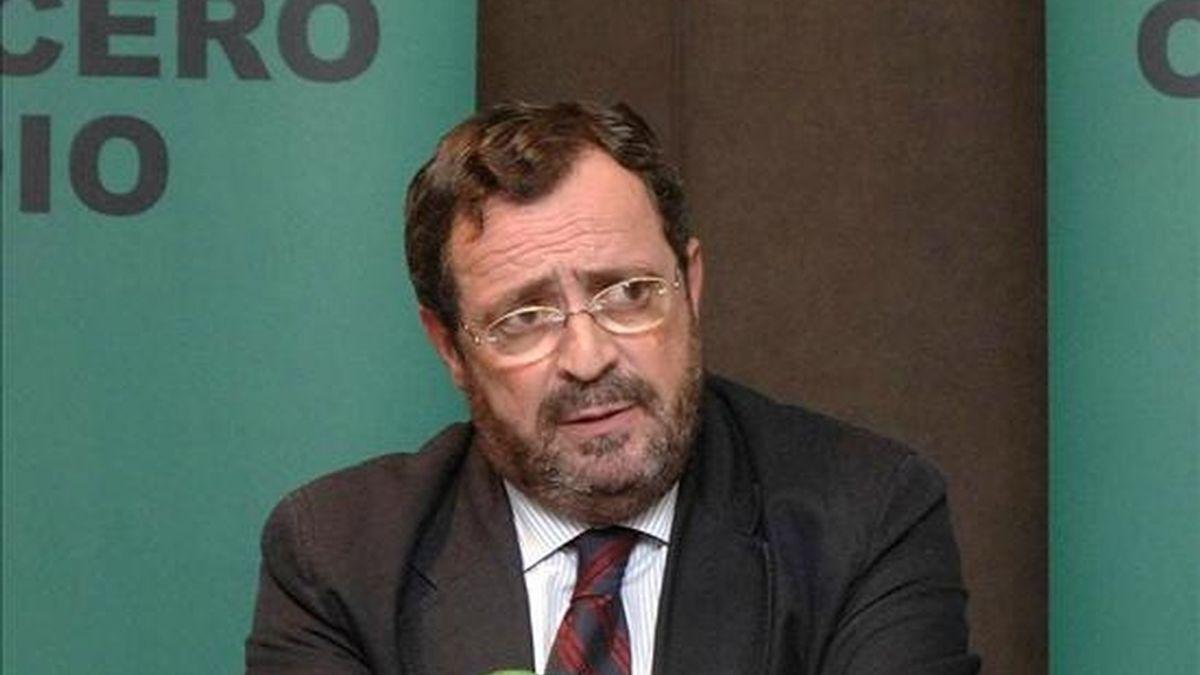 El presidente de Onda Cero, Javier González Ferrari, participa de jurado. EFE/Archivo