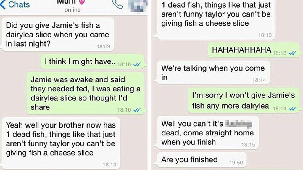 Conversación madre-hija