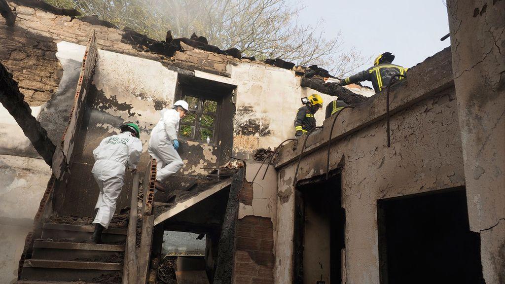 Incendio de una casa en Vilalba, Lugo