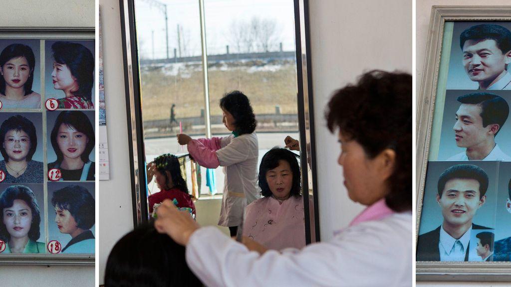 Peluquería en Corea del Norte