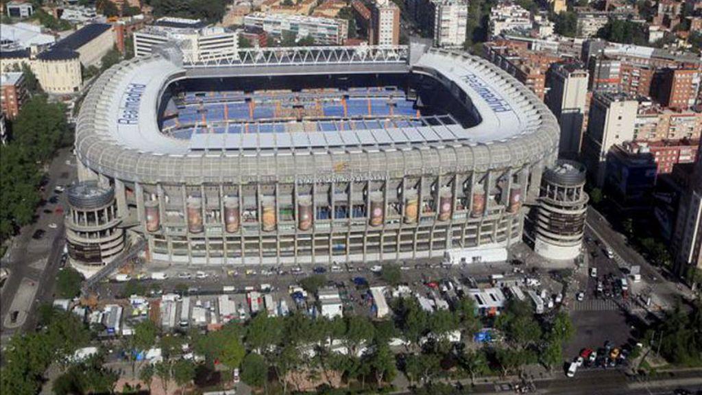 Imagen de archivo Santiago Bernabéu