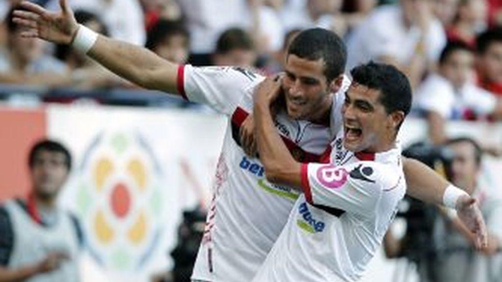 Raúl García y Hemed firman tablas entre Osasuna y Mallorca con dos goles cada uno