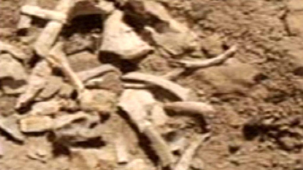 Los huesos, sobre el terreno