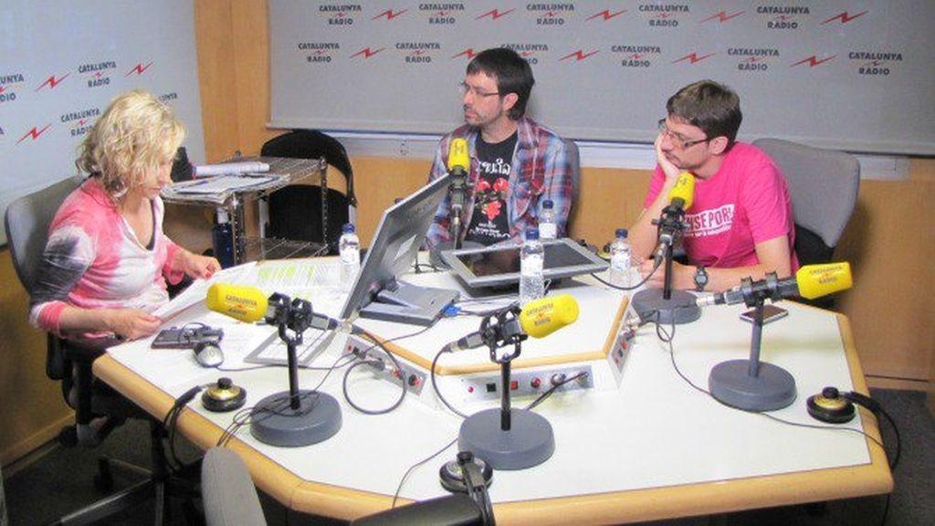 Entrevista a Roger Castellanos y Tomàs Sayes en Catalunta Radio