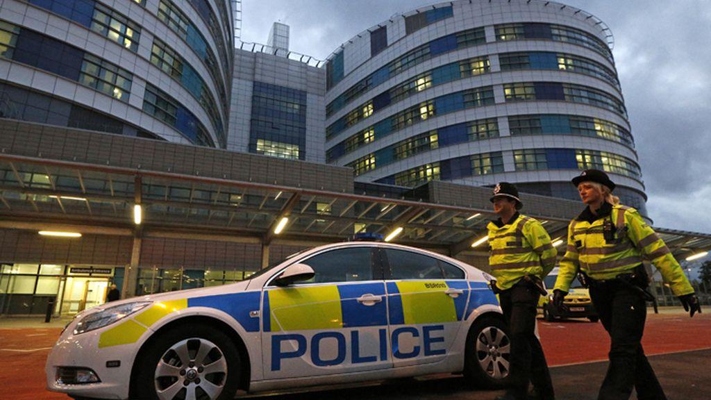 Hospital Queen Elizabeth de Birmingham, Reino Unido, en donde está ingrasa Malala Yusufzai, para ser tratada de las heridas causadas por los disparos de los talibán