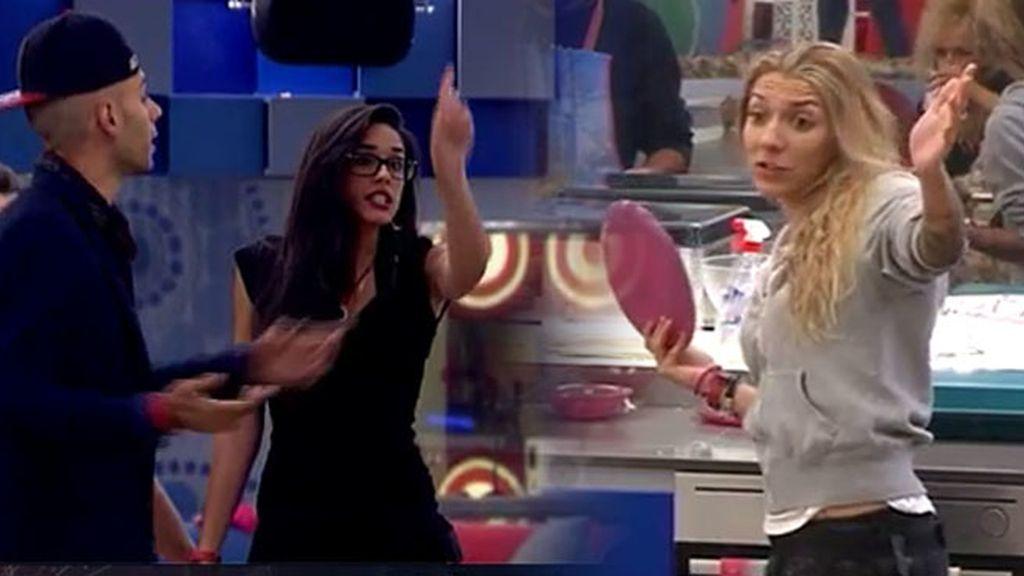 """Lucía, a Paula: """"Ten cuidado conmigo"""""""