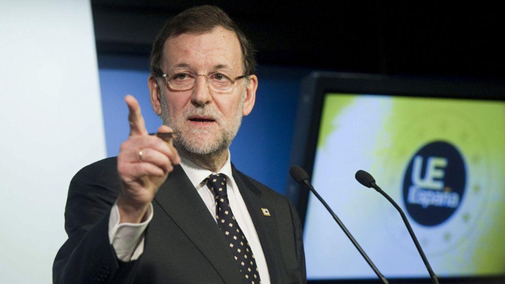 Rueda de prensa de Mariano Rajoy en Bruselas