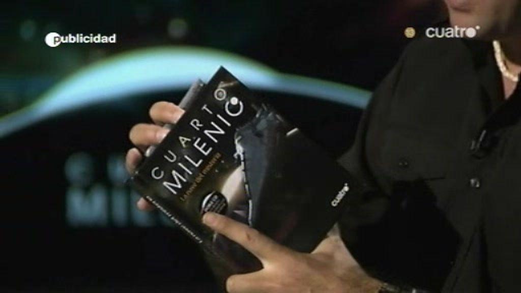 Iker Jiménez presenta el disco de Cuarto Milenio