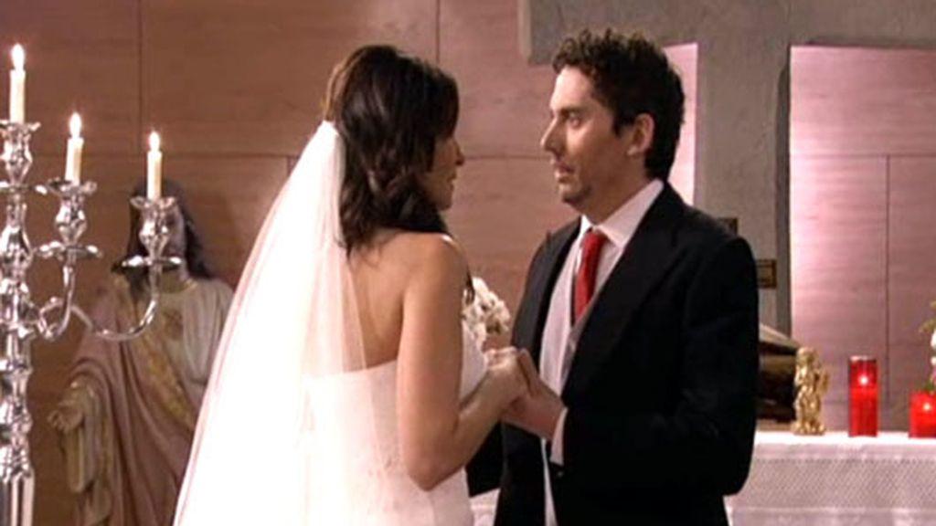 Al final, Paz se casa con Edu