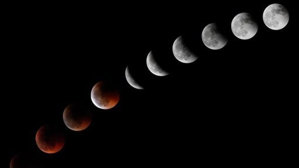 eclipse,15 de abril,cuatro lunas de sangre,eclipse total de Luna