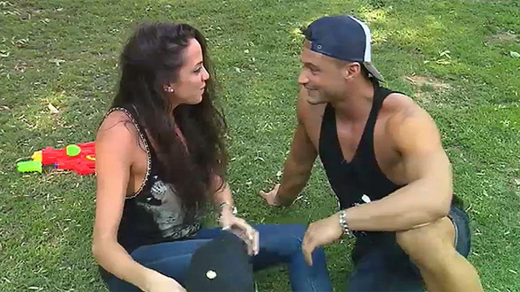 """Samira, a Ángel: """"Todavía no te puede como mi novio"""""""