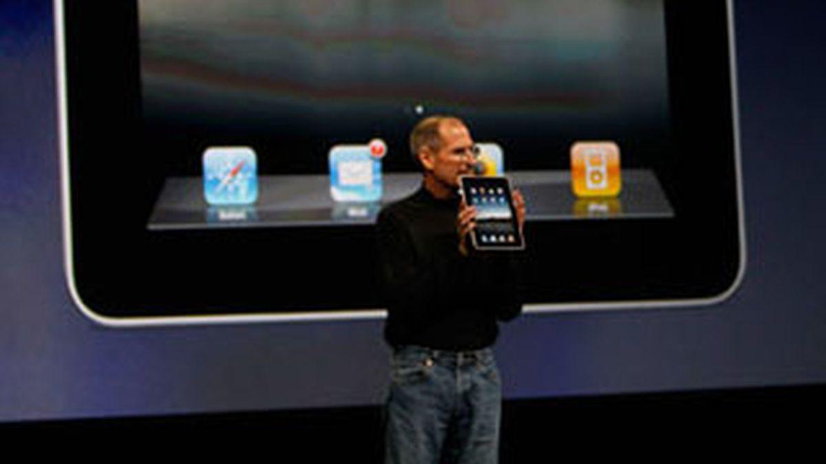 Jobs, padre el iPad. Foto: EFE.
