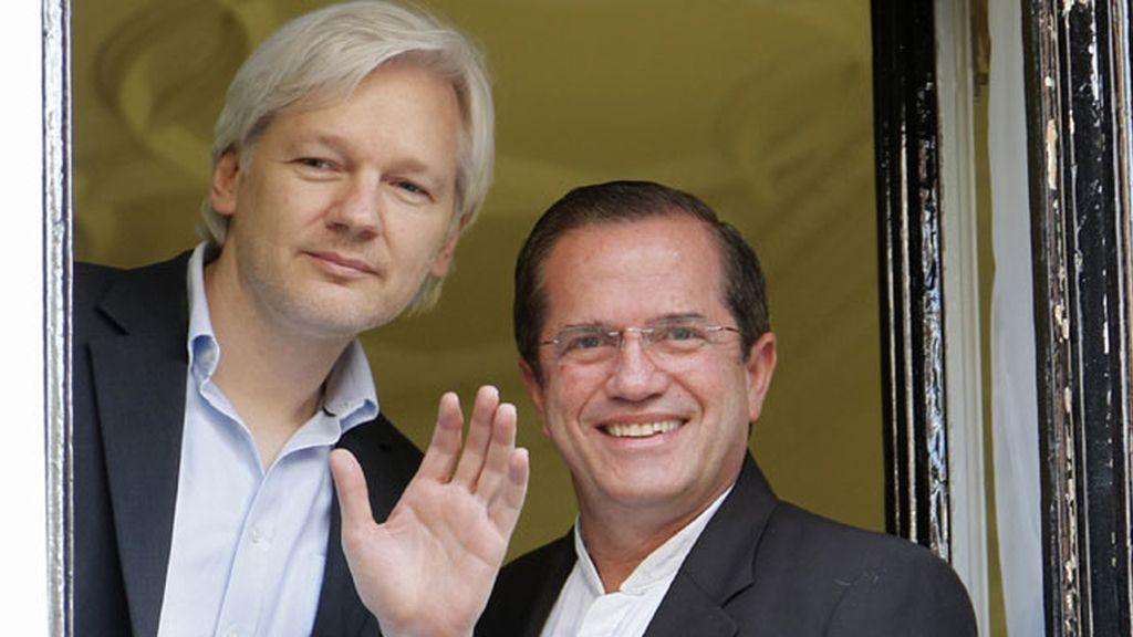Julian Assange, un año de encierro en la embajada de Ecuador en Londres