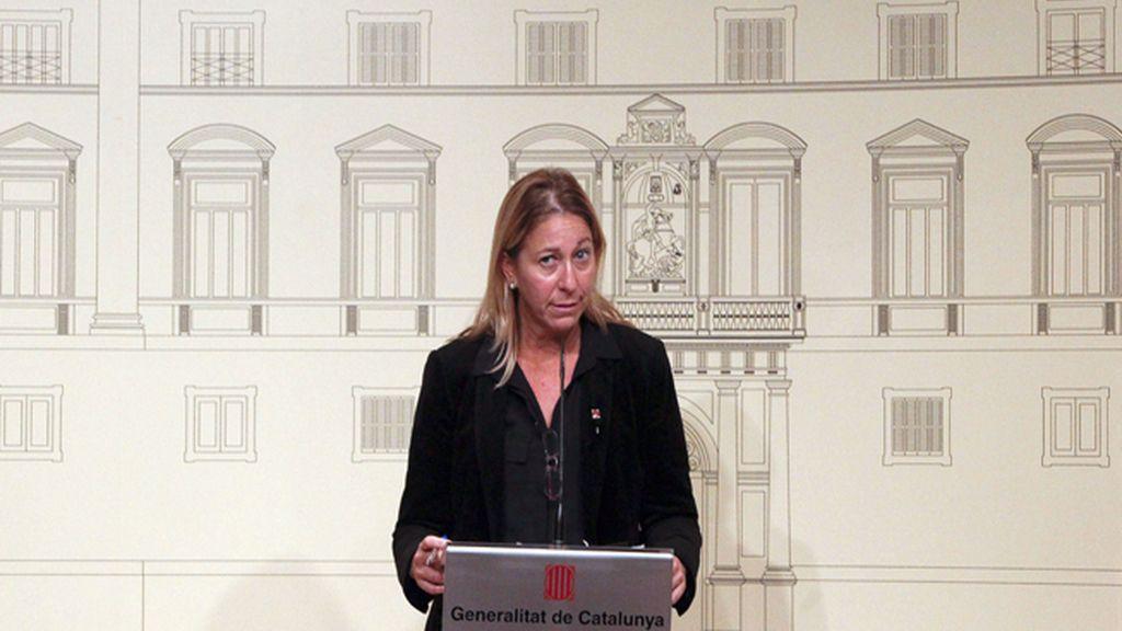 """El Gobierno catalán anuncia la """"voluntad"""" de aplicar la resolución independentista"""