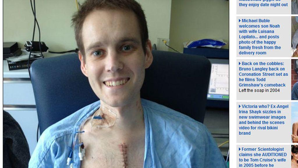 luna de miel,infarto,miocarditis,muere,seis veces,Andrew Britton