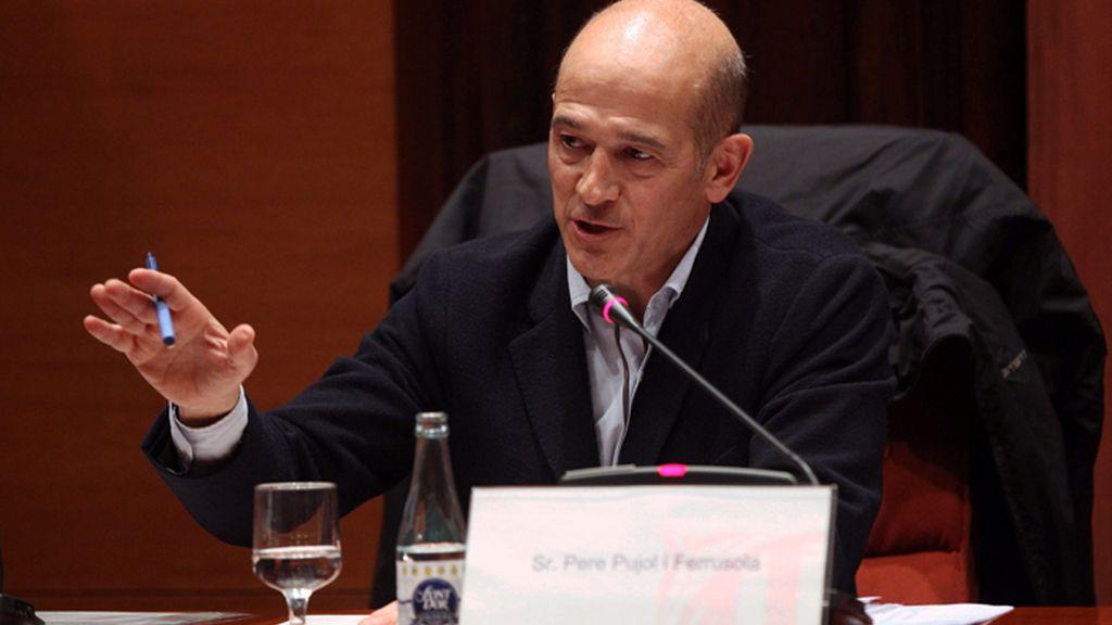 Pere Pujol comparece en la comisión del Parlament sobre faude fiscal
