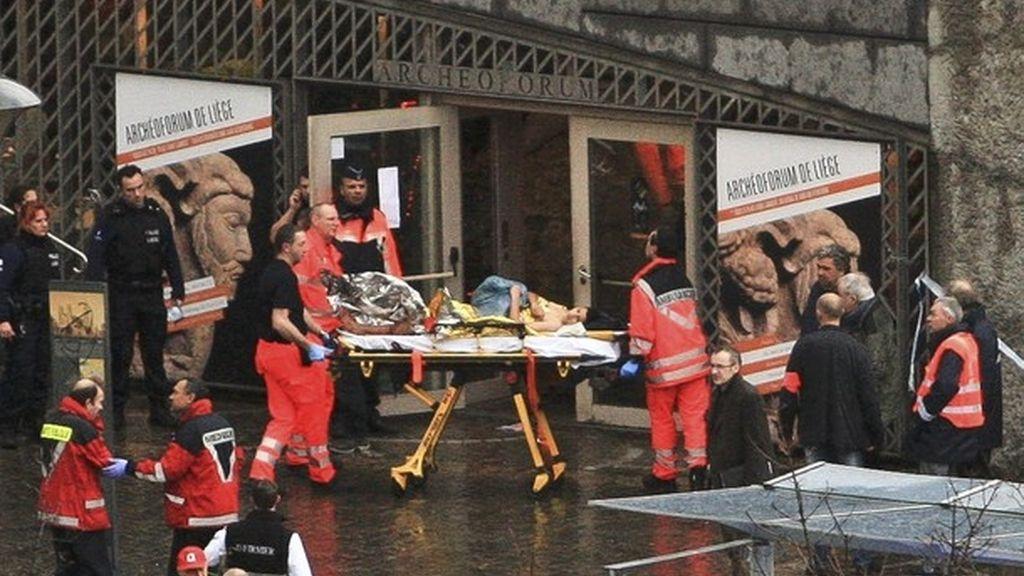 Dos muertos en Lieja