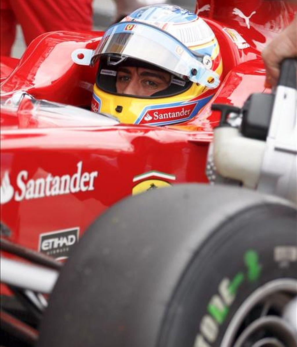 El piloto español de Fórmula Uno Fernando Alonso, de Ferrari. EFE/Archivo