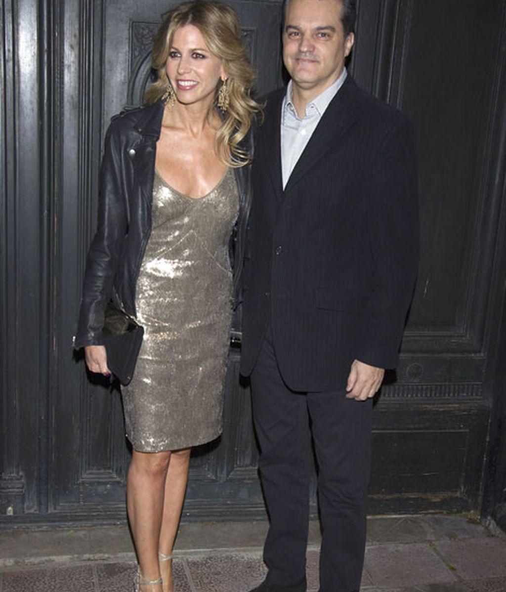 Ramón García y su mujer, Patricia Cerezo, fueron algunos de los invitados