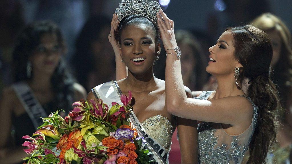 La angoleña Leila Lopes, la más guapa del universo