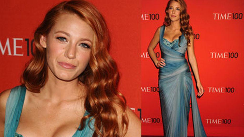 Blake Live, la rubia de 'Gossip Girl' se une a la moda del pelo rojo