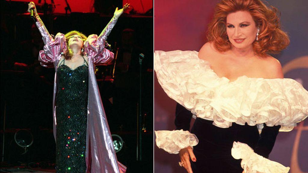 Porque cantaba copla vestida de Balenciaga y Chanel