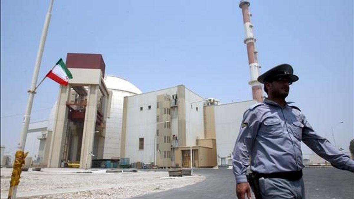 Vista general de la central nuclear de Bushehr (Irán) e 21 de agosto de 2010. EFE/Archivo