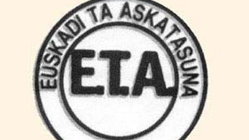 Un logo de la banda terrorista.