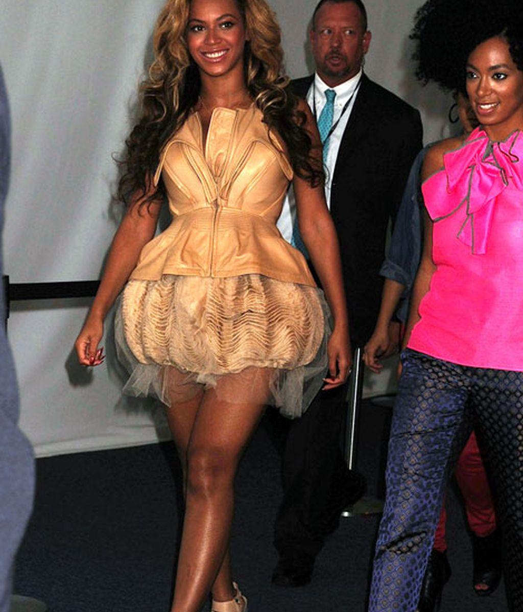 Beyoncé, informal pero arreglada