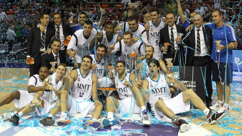Real Madrid. Supercopa de baloncesto. Foto: EFE