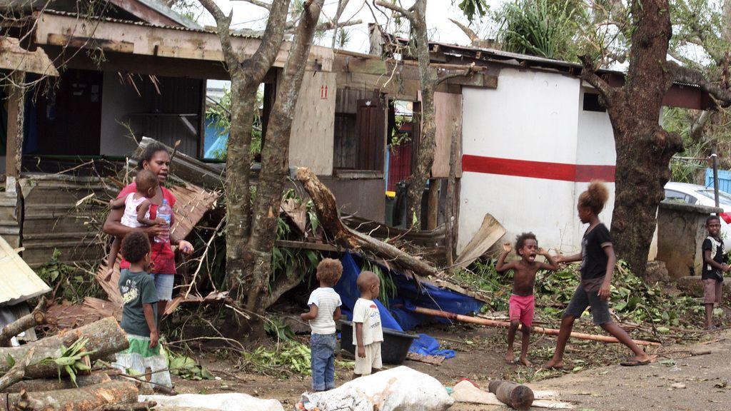 Save the Children alerta de que hay hasta 75.000 niños afectados por 'Pam' en Vanuatu