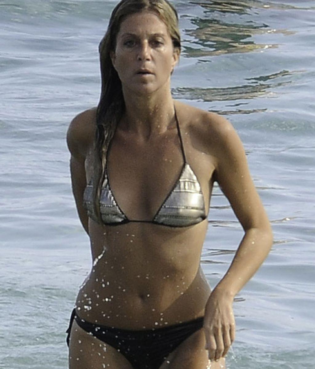 Natalia Álvarez, ex de Rafi Camino, en Ibiza sin su hijo