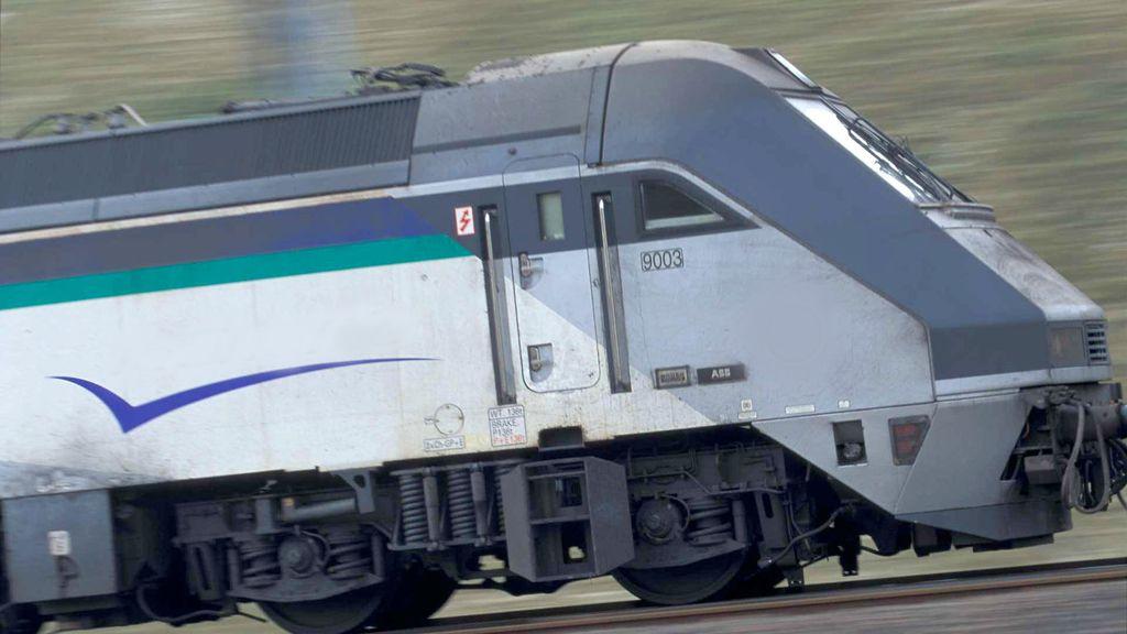 tren, vías, ferrocarril