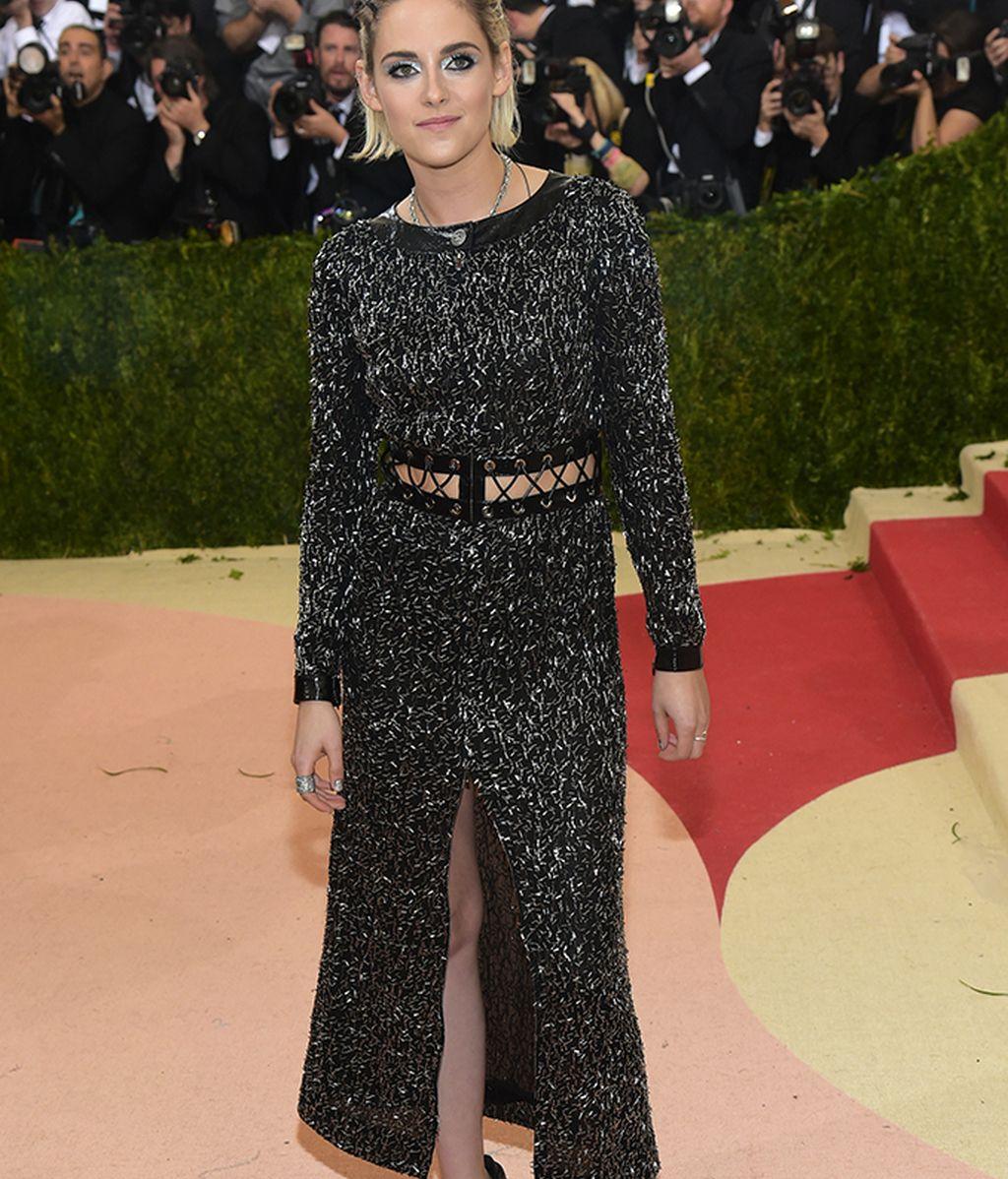 Kristen Stewart con vestido de Chanel