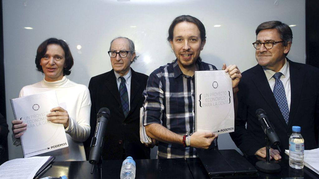 Pablo Iglesias presenta el programa político de Podemos